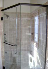 new shower glass door